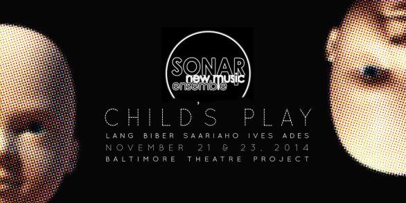 "in performance: SONAR New Music Ensemble's Invigorating ""Child's Play"""