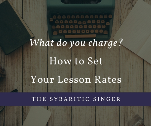 How to Set Your Lesson Rates