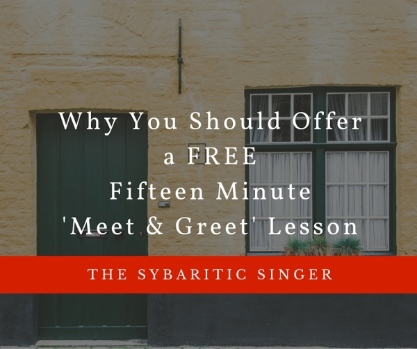 Why You Should Offer a Free Fifteen Minute Meet and Greet Lesson