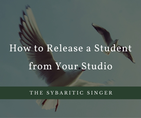 How to Release a Student from Your Studio