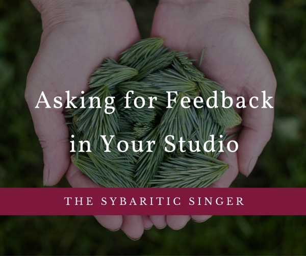 Revolutionize Your Studio: Ask for Feedback